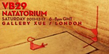 "Vaneeesa Blaylock / Company production of ""VB29 - Natatorium"" - Event Poster"